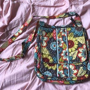 A Vera Bradley cross body purse